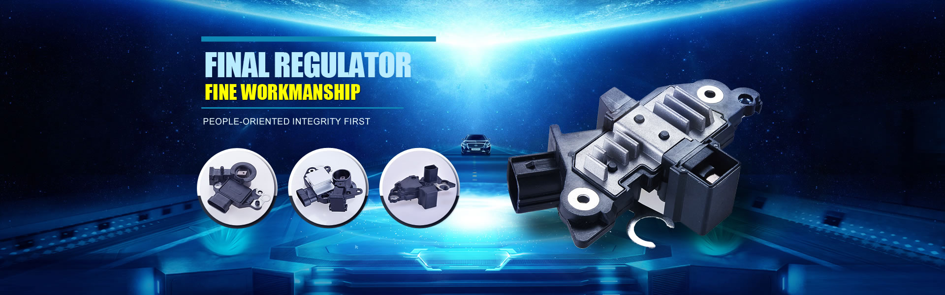 One of the most professional production of automotive regulator and rectifier manufacturer